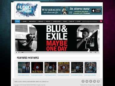 Music Websit-Flood Season