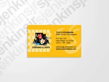 Zakiya Atkinson Business Card