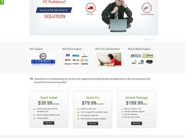 Technical Support Website using Wordpress
