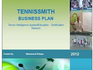 Business Plan of Tennis Education Academy, USA