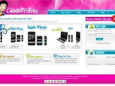 Gloobi points