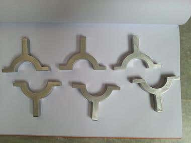 Manufacturing of Clamps