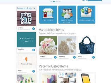 E-commerce market place