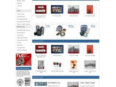 Wordpress site - http://en.tinlien.com/