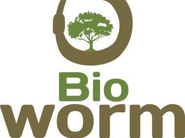 BioWorm Logo.