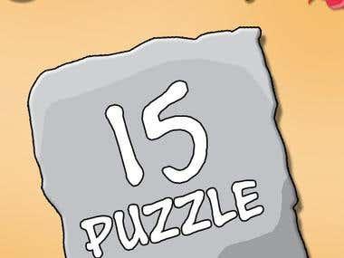 15 Puzzle - Beach Theme [conceptual]