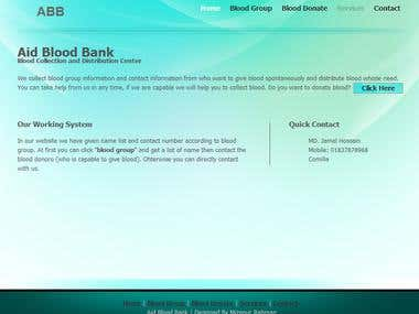Blood bank CMS site