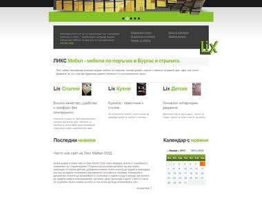 LixMebel.com - a furniture company