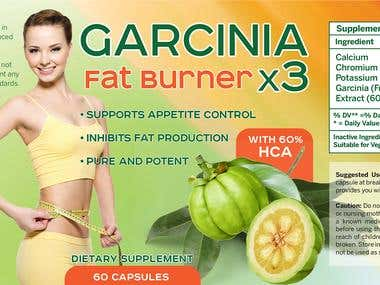 Garcinia label
