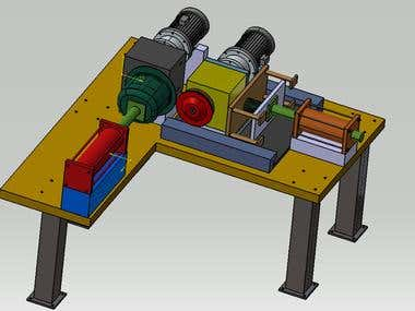 Special Purpose Machine for Shell Flange cutting