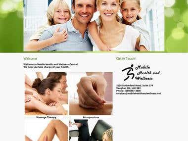 Mobile health Website