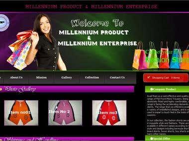 MILLENNIUM PRODUCT & MILLENNIUM ENTER