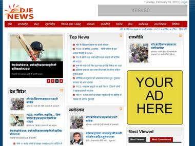 Online News Portal.