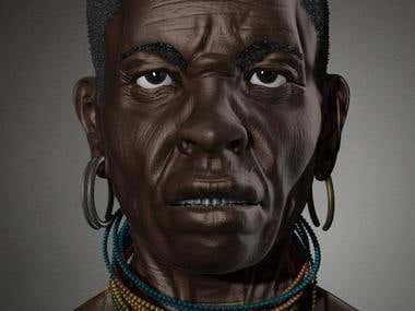 Africa man