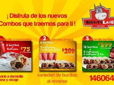 Burrito Land Flyer