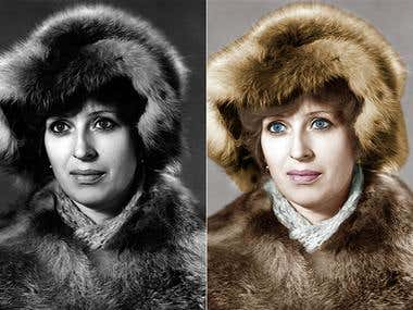 colorization of old photos \original left right result\