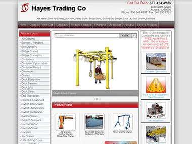 HayesTrading Redesign