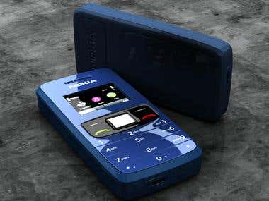 3D Photoreal Rendering *CELL PHONE""