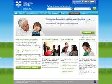 Resourcing Parents - www.resourcingparents.com