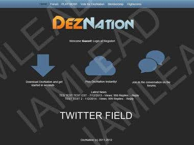 Deznation Website