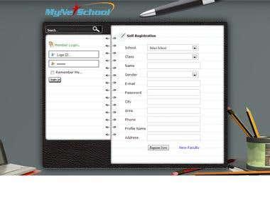 Online School Website.