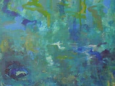"My paintings - cycle ""Water"""