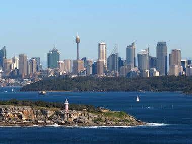 Sydney skiline