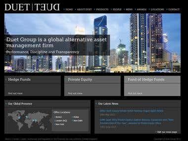 Duet Group drupal wordpress project