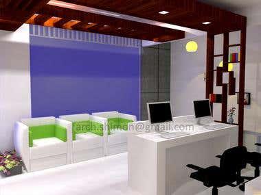 Design Model 3D Shop Refurbishment