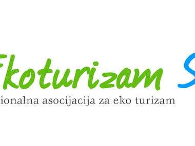 Logo design for ECO tourism in Serbia