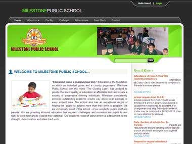 School Website.