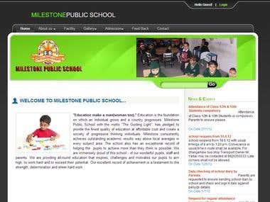 School Website.