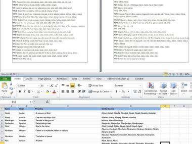 Excel Works