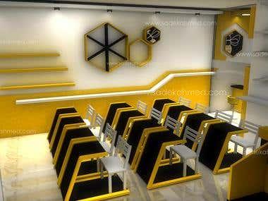 Interior Design by sadek ahmed