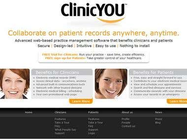 ClinicYou - Web based practice management system