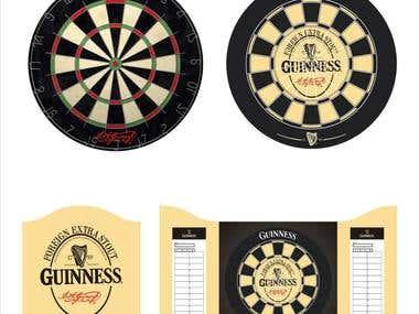 Darts board design