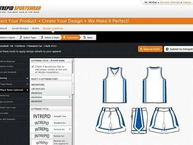 Custom Uniform Builder - Sports uniforms designs App