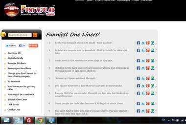 A Clone website with data scrapper