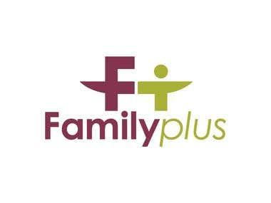 Familyplus logo design