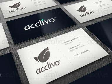 Acclivo Business Card