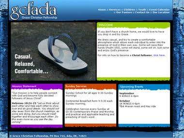 Website - GCFADA