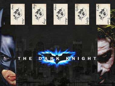 The Dark Knight Flash Website
