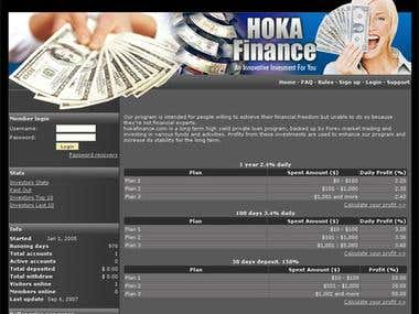 Website : Hoka Finance