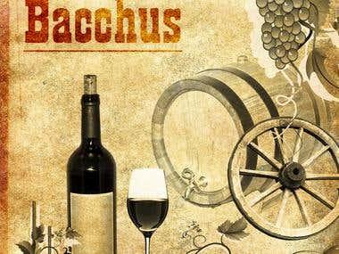 "Poster ""Pray to Bacchus"""