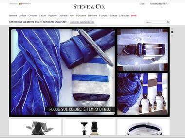 E-Commerce Website for fashion industry