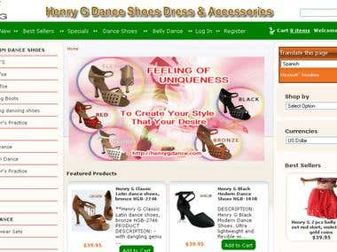 Henry G Dance Shoes Dress & Accessories