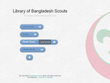 Library of Bangladesh Scouts