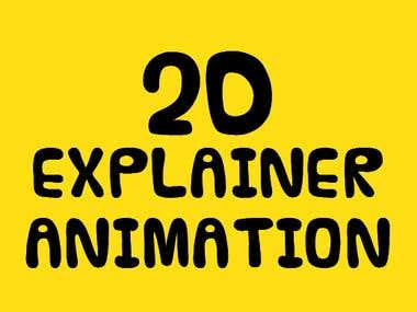 2D explainer animation