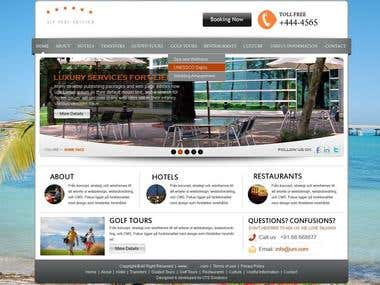 Hotel/Restaurant Website