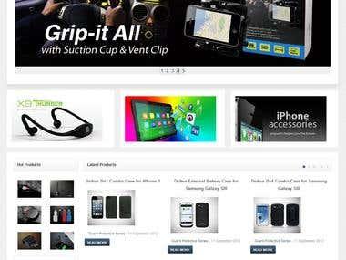 Delton Wireless Website Redesign